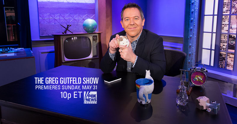 The Greg Gutfeld Desk